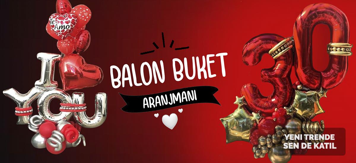 balon buket aranjman balonsepeti hediye sürpriz