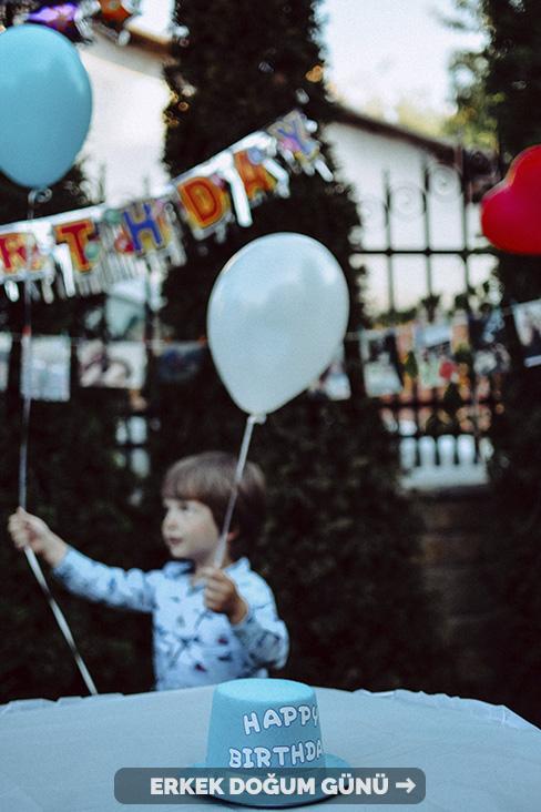 erkek doğum günü