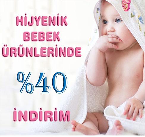 bebek ürünlerinde 40 indirim