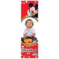 Kişiye Özel Mickey Mouse Temalı Kitap Ayracı