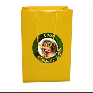 Kişiye Özel Tinker Bell Temalı Çanta