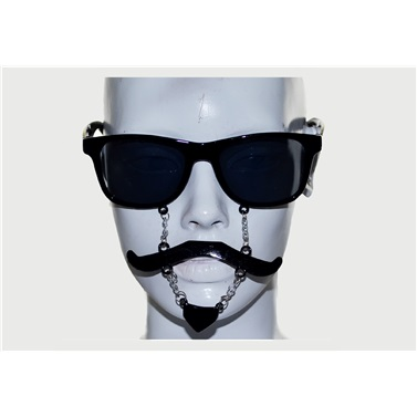 Siyah Sakal Bıyıklı Gözlük