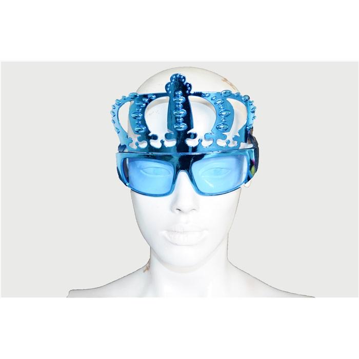 Mavi Taç Temalı Gözlük