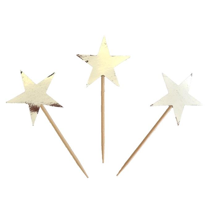 Beyaz Yıldız Temalı Kürdan