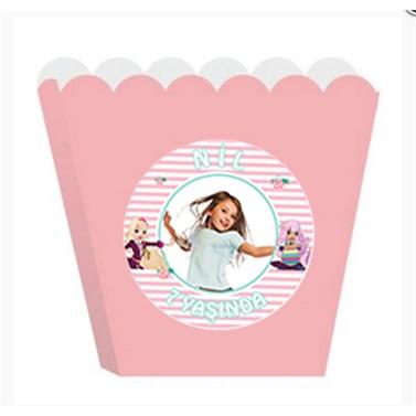Kişiye Özel Regal Academy Temalı Popcorn Kutusu