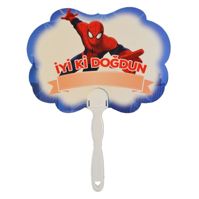 Spiderman Temalı Konuşma Balonu