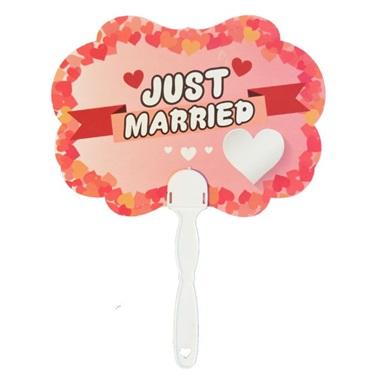 Just Married Yazılı Konuşma Balonu