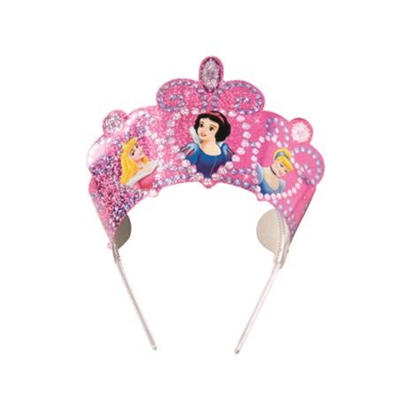 Prenses Temalı Sihir Taç (6 Ad)