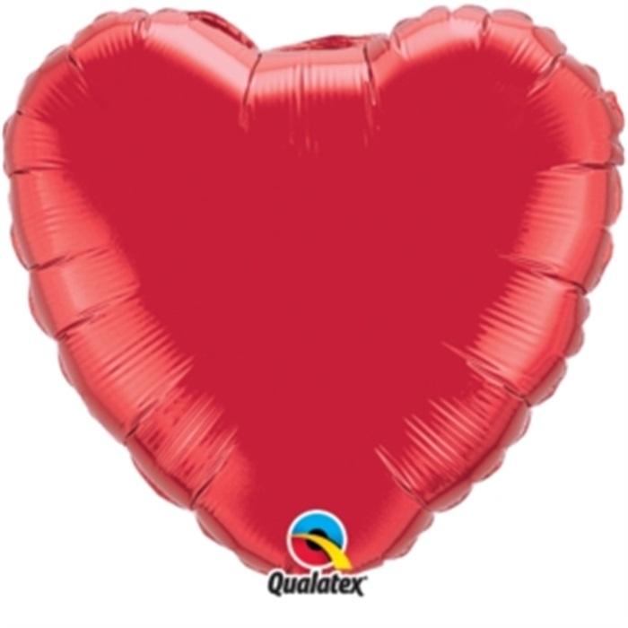 Büyük Kırmızı Kalp Folyo Balon