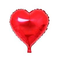 Kırmızı Kalp Folyo Balon