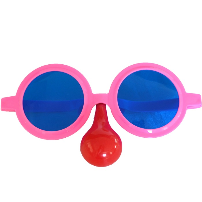 Pembe  Parti Gözlüğü