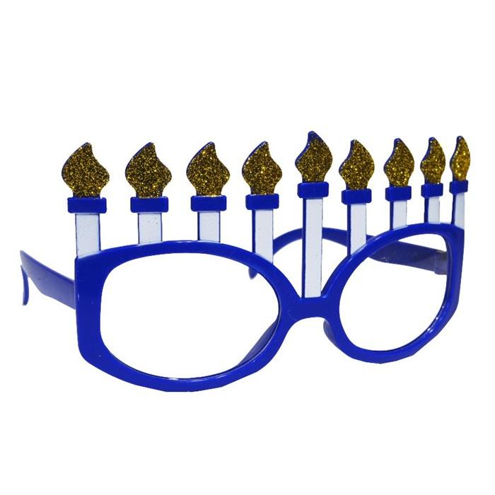 Mavi Mumlu Parti Gözlüğü