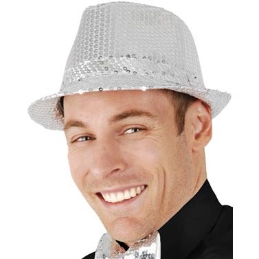 Pullu Gümüş Şapka