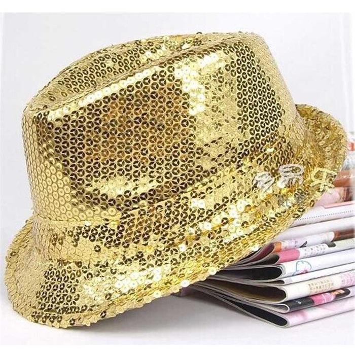 Pullu Gold Şapka