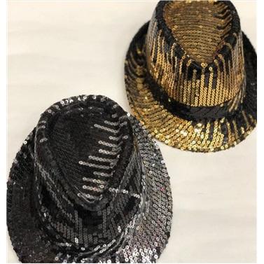 Ritim Pullu Gold Parti Şapkası