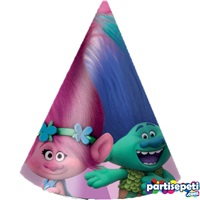 Trolls Temalı Külah Şapka