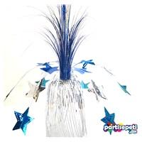 Yıldızlı Mavi Palmiye Süs