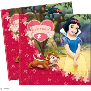 Pamuk Prenses Temalı Kağıt Peçete