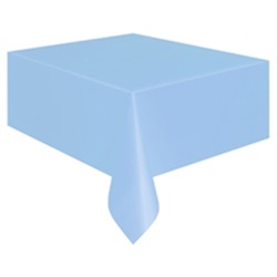 Açık Mavi Pastel Masa Örtüsü