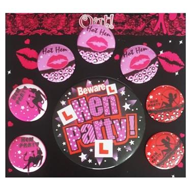 Hen Party Rozet Takımı