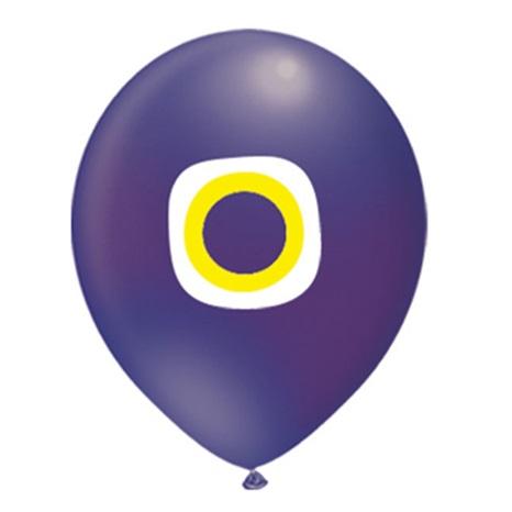 Nazar Boncuklu Balon Lacivert