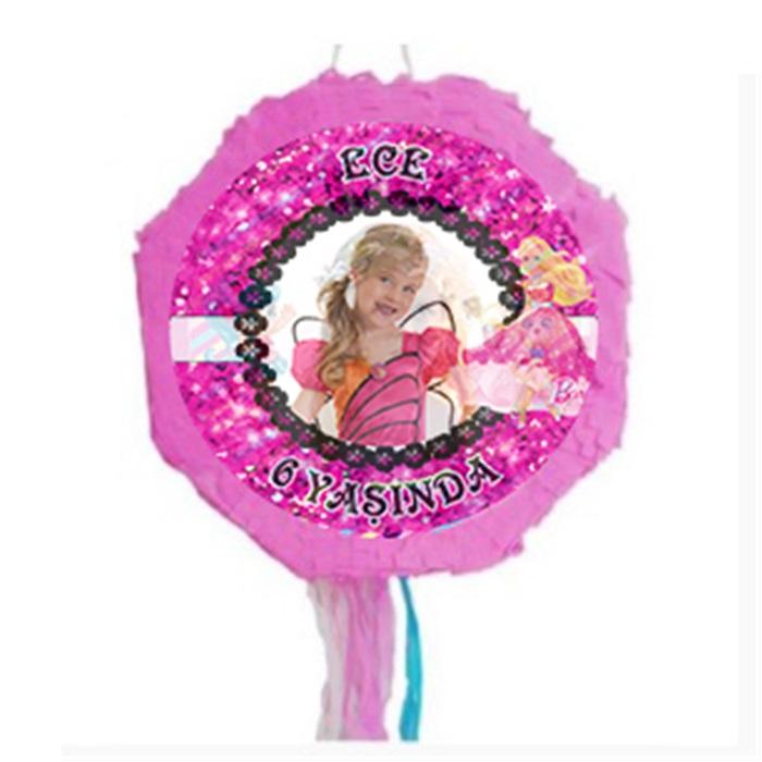 Kişiye Özel Barbie Pinyata + Sopası