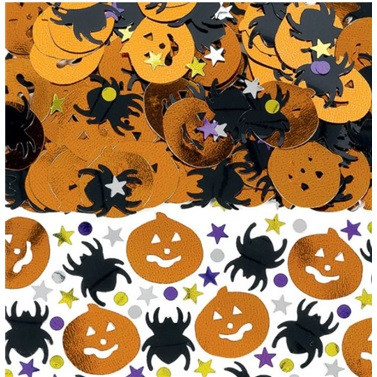 Halloween Masa Konfetisi