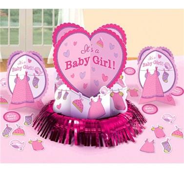 Baby Girl Masa Süsleme Seti