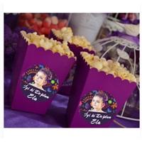 Büyülü Renkler Temalı Kişiye Özel Popcorn Kutusu