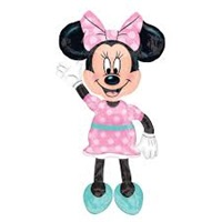 Minnie Mouse Temalı AirWalkers Folyo Balon