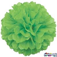 Mint Yeşili Ponpon Çiçek