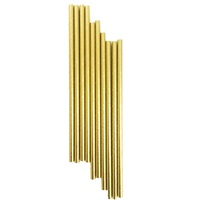 Gold Altın Renkli Kağıt Pipet