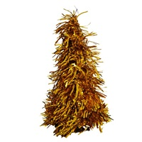 Yılbaşı Çam Ağacı Masa Dekor Süsü Gold