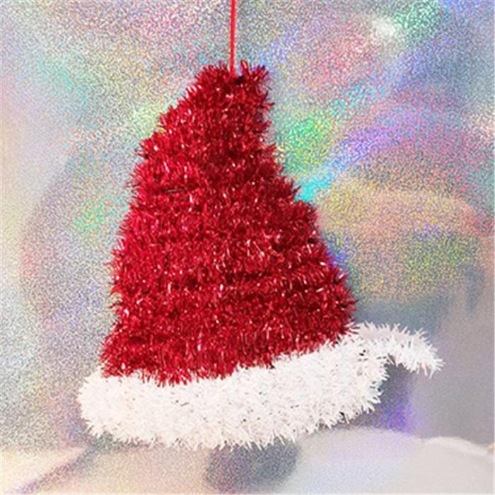 Yılbaşı Noel Şapka Kapı Süsü