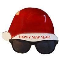 Yılbaşı Happy New Year Kırmızı Gözlük