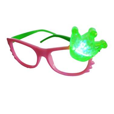 Pembe Yeşil Işıklı Parti Gözlüğü