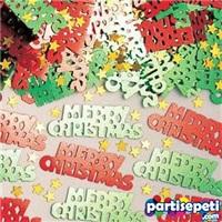 Yılbaşı Merry Chrıstmas Masa Konfetisi