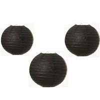 Siyah Fener Süs 3 Adet