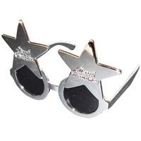 Merry Christmas Yıldız Gümüş Gözlük