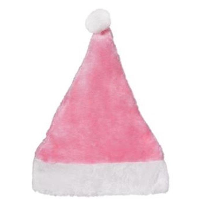 Yılbaşı Noel Şapka Pembe Lüks