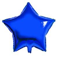 Yıldız Folyo Balon Lacivert