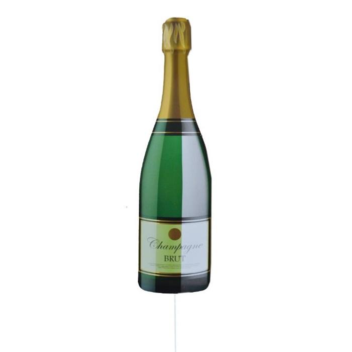 Konuşma Balonu Şampanya Şişesi