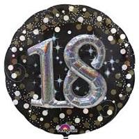 18 Yaş Temalı 3 Boyutlu Folyo Balon