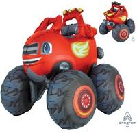 Cars Blaze Airwalkers Folyo Balon