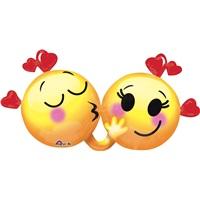 Sevgililer Günü Emoji Folyo Balon