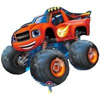 Blaze Cars Temalı Folyo Balon