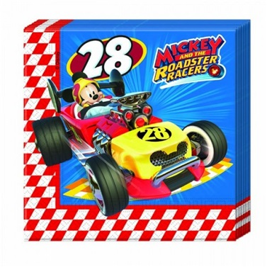 Mickey Mouse Roadster Racers Peçete