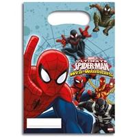 Ultimate Spiderman Web Temalı Parti Çantası