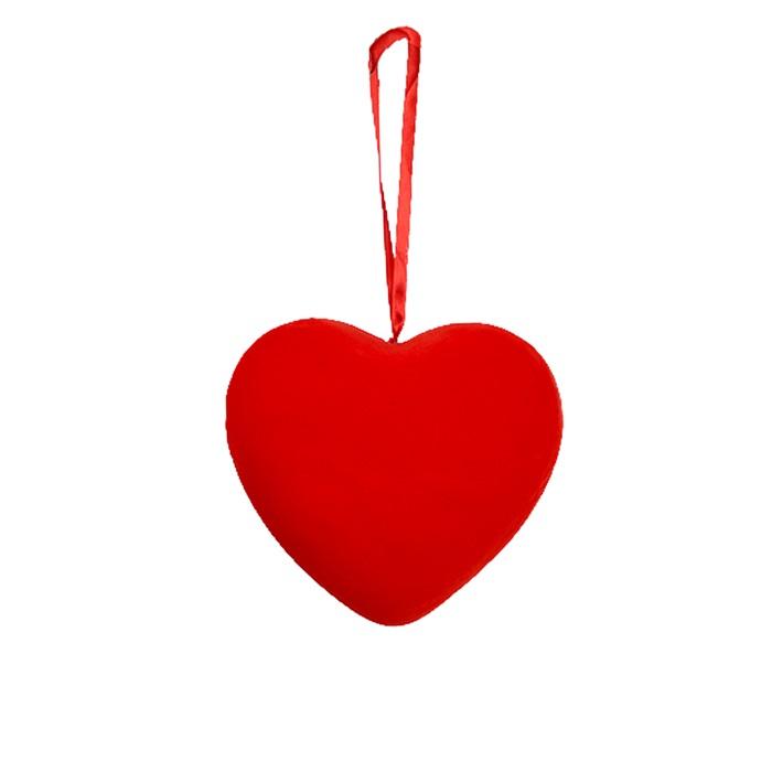 Kalp Büyük Köpük Süs