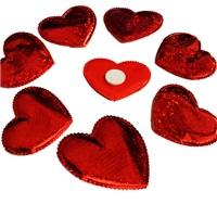 Sevgililer Günü Kumaş Yapışkanlı Sticker